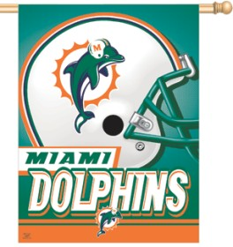 Miami Dolphins Banner 27x37 CASY199