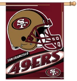 San Francisco 49ers Banner 27x37 CASY202