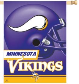Minnesota Vikings Banner 27x37 CASY206