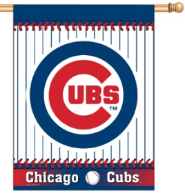 Chicago Cubs Banner 27x37 CASY225