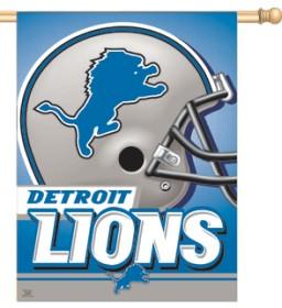 Detroit Lions Banner 27x37 CASY226
