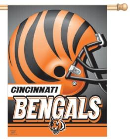 """Cincinnati Bengals 27""""x37"""" Banner"""