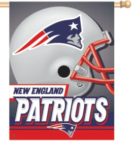 New England Patriots Banner 27x37 CASY250