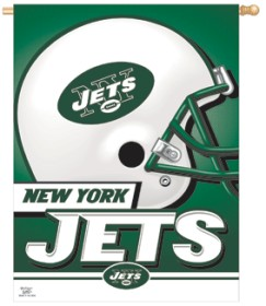 New York Jets 27x37 Banner CASY253