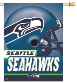 Seattle Seahawks 27x37 Banner CASY256