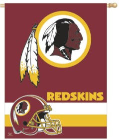 Washington Redskins Banner 27x37 CASY260