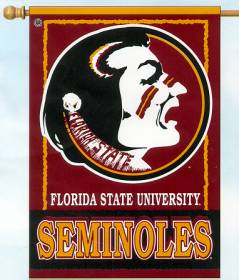 Florida State Seminoles 27x37 Banner CASY287