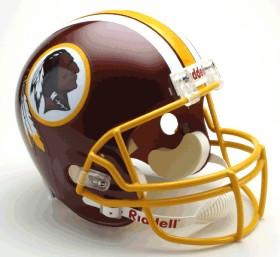 Washington Redskins Deluxe Replica Helmet
