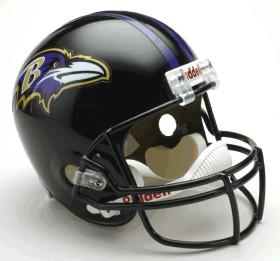 Baltimore Ravens Riddell Deluxe Replica Helmet