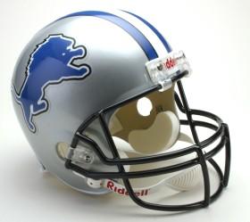 Detroit Lions Riddell Deluxe Replica Helmet