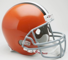 Cleveland Browns 2006-14 Throwback Riddell Deluxe Replica Helmet