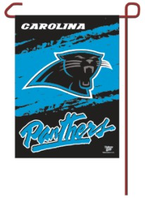 """Carolina Panthers 11""""x15"""" Garden Flag"""