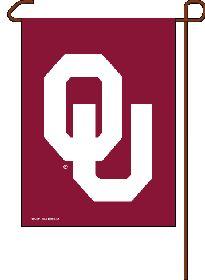 Oklahoma Sooners Garden Flag 11x15 CASY4325