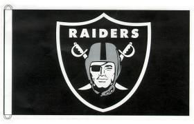 Oakland Raiders Flag 3x5 CASY4706