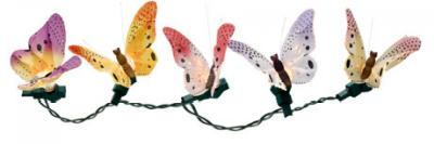 Creative Motion 10077-4 Fiber Butterfly Light String