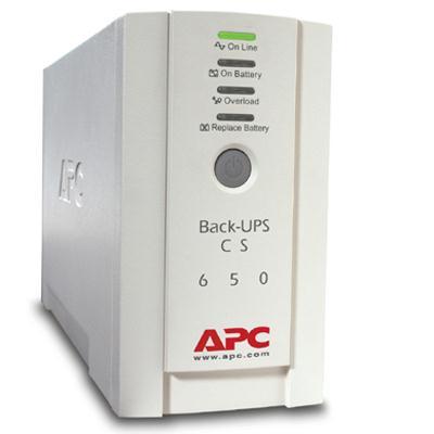American Power Conversion-APC 650VA UPS International BK650EI