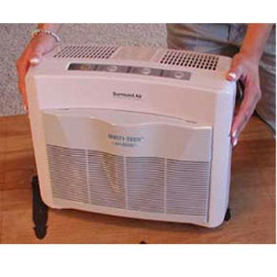 Surround Air XJ3000C Air Purifier- Ionizer & UV DHXJ3000C