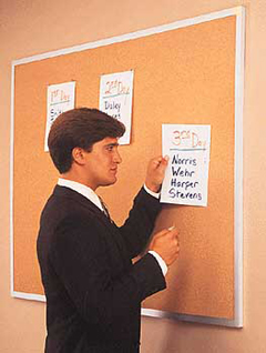 Ghent GH-13231 24 x 36 Bulletin Cork Boards