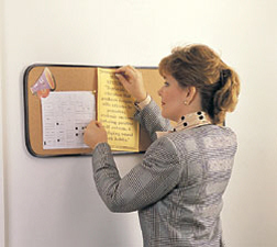 GHENT GH-14181 CORK BULLETIN BOARDS 18X