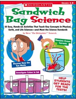 SCHOLASTIC TEACHING RESOURCES SC-0439754666 SANDWICH BAG SCIENCE