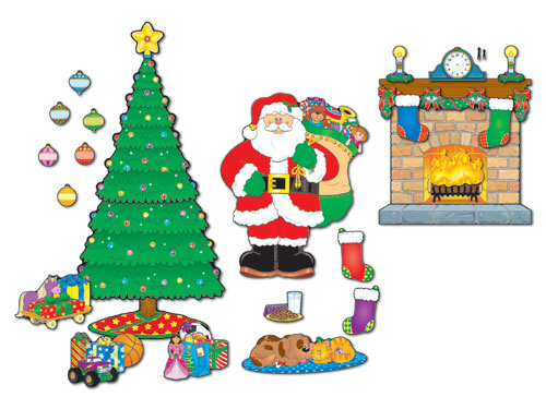 CARSON DELLOSA CD110062 BB SET CHRISTMAS SCENE