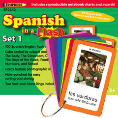 EDUPRESS EP-2342 SPANISH IN A FLASH SET 1