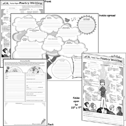 TEACHING & LEARNING CO. TL-10459 POSTER POETRY WRITING