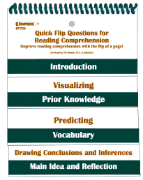 EDUPRESS EP-725 QUICK FLIP QUESTIONS FOR READING CO MPREHENSION