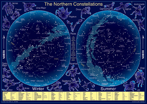 CARSON DELLOSA CD-5938 CONSTELLATIONS CHARLETS