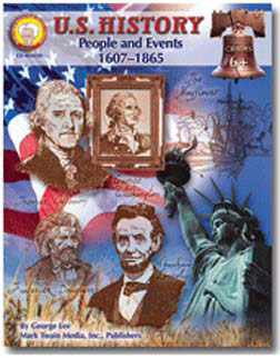 CARSON DELLOSA CD-404039 US HISTORY PEOPLE AND EVENTS 160 7-1865 GRADES 6 AND UP