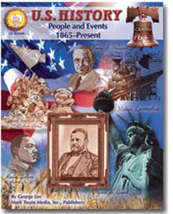CARSON DELLOSA CD-404040 US HISTORY PEOPLE AND EVENTS 186 5-PRESENT GRADES 6 AND UP