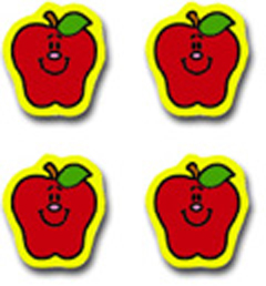 CARSON DELLOSA CD-2157 CHART SEALS APPLES 810 PACK ACID AND LIGNIN FREE