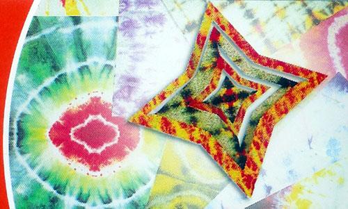 "ROYLCO  INC. R-15263 11"" x 8.5"" x 0.2""Tie Dye Paper"