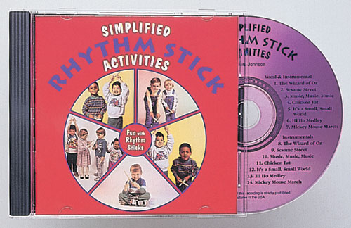 KIMBO EDUCATIONAL KIM2015CD SIMPLIFIED RHYTHM STICK CD SIMPLIFIED RHYTHM STICK CD