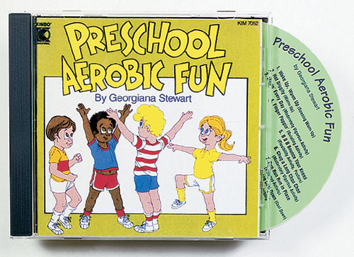 KIMBO EDUCATIONAL KIM7052CD PRESCHOOL AEROBIC FUN CD AGES 3-6