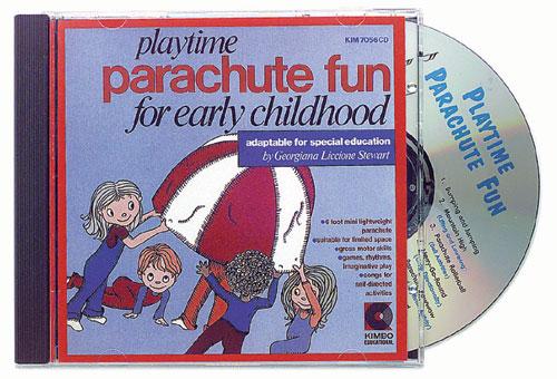 KIMBO EDUCATIONAL KIM7056CD PLAYTIME PARACHUTE FUN CD AGES 3-8