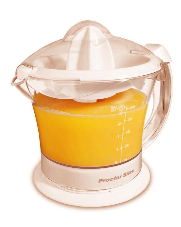 Proctor Silex 66332R Juicit Citrus Juicer- Almond