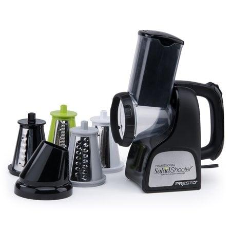 Presto 02970 Professional SaladShooter Electric Slicer Shredder  White