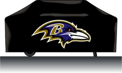 Baltimore Ravens Grill Cover Deluxe
