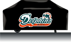CASEYS Casey 9474633835 Miami Dolphins Deluxe Grill Cover at Sears.com