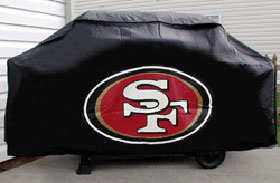 CASEYS 9474633843 San Francisco 49ers Deluxe Grill Cover at Sears.com