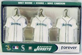 Seattle Mariners Jersey Magnet Set