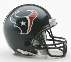 Houston Texans Replica Mini Helmet w/ Z2B Face Mask CASY7020