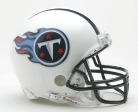 Tennessee Titans Replica Mini Helmet w/ Z2B Face Mask CASY7036