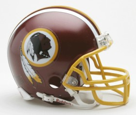 Washington Redskins Replica Mini Helmet w/ Z2B Face Mask CASY7037