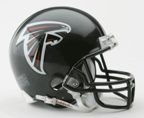 Atlanta Falcons Replica Mini Helmet w/ Z2B Face Mask CASY7041