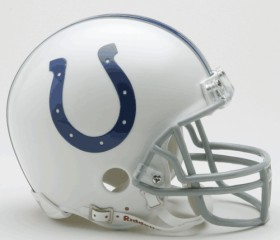 Indianapolis Colts Replica Mini Helmet w/ Z2B Face Mask CASY7042