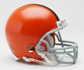 Cleveland Browns 2006-14 Throwback Replica Mini Helmet w/ Z2B Face Mask