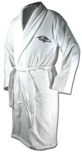 Bath Robe - Baltimore Ravens Bath Robe