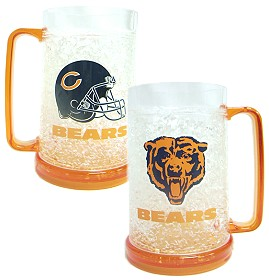Duck House 9413159104 Chicago Bears Crystal Freezer Mug